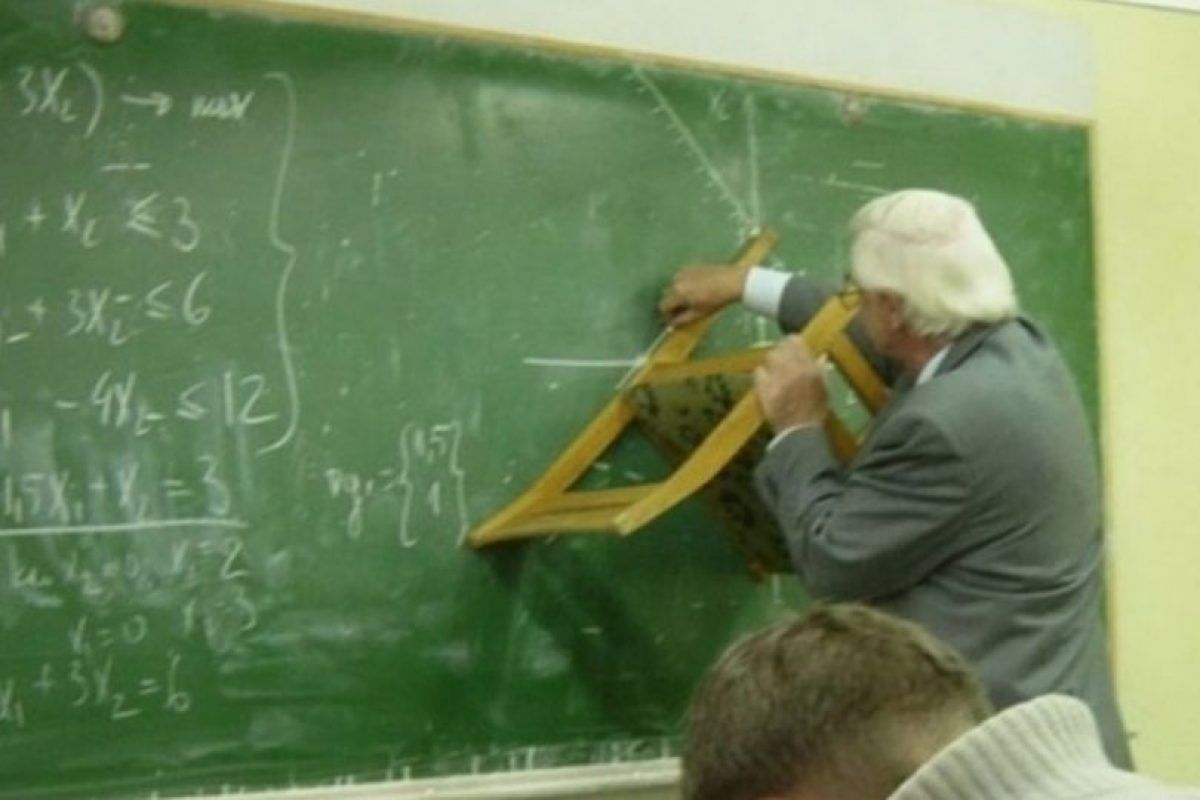 Estos profesores también sorprendieron a sus alumnos Foto:Reddit. Imagen Por: