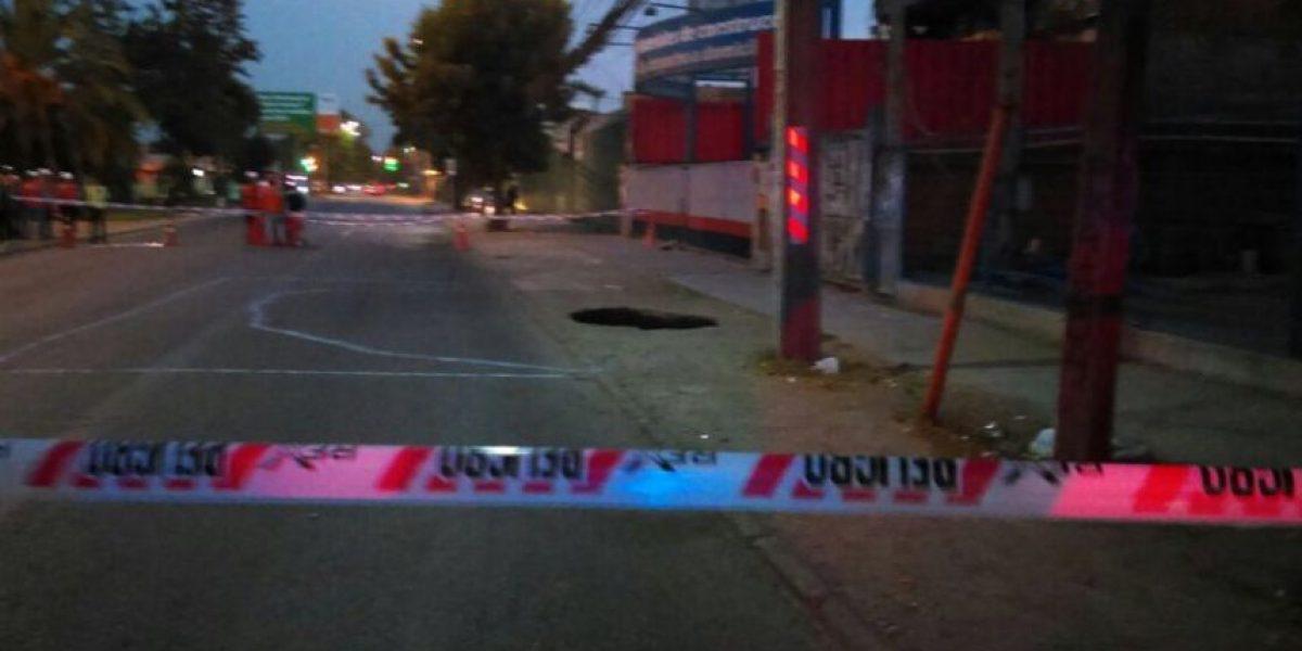 Fatiga de terreno provoca socavón en obras de Línea 3 del Metro en Independencia