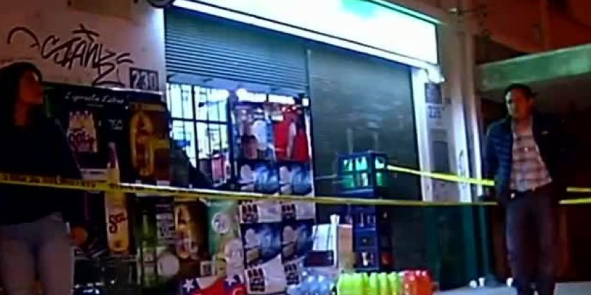 Dos muertos tras violento asalto a conocida botillería de Valparaíso
