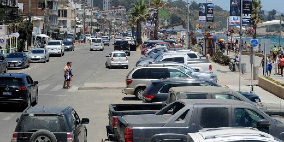 Parque automotor se septuplicó en 25 años en Chile