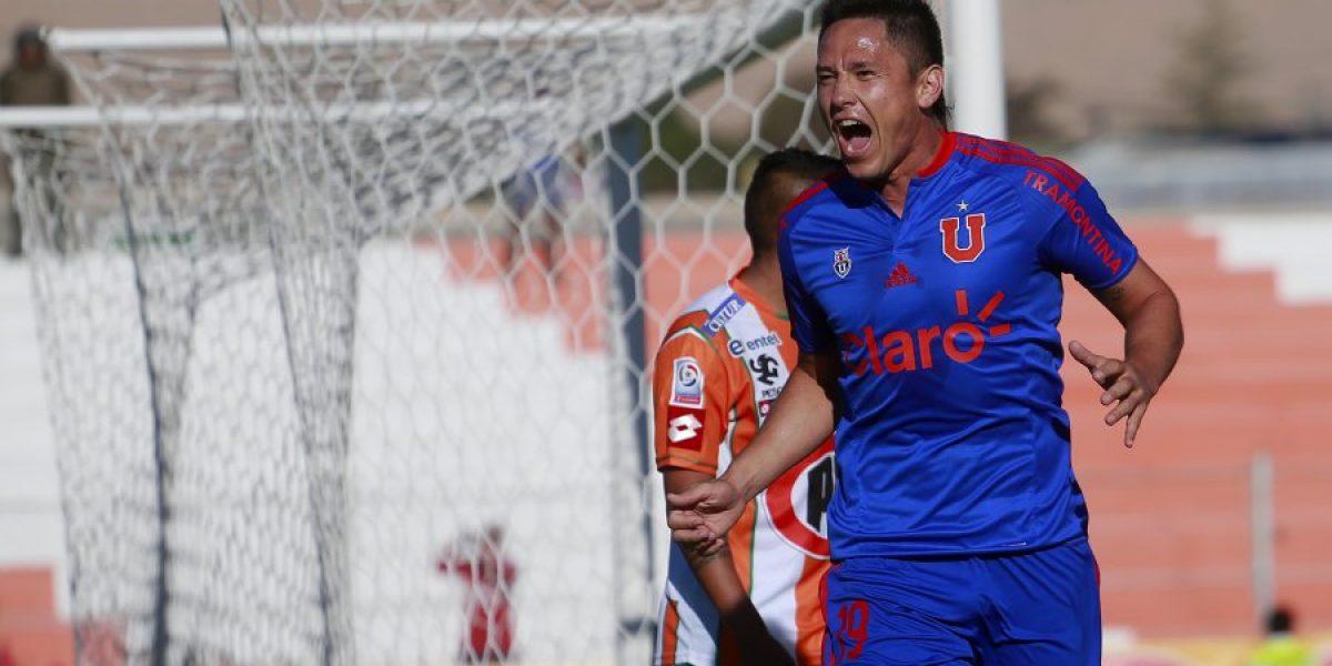 Canales regresó a Santiago luego de tratarse con el fisioterapeuta José Amador
