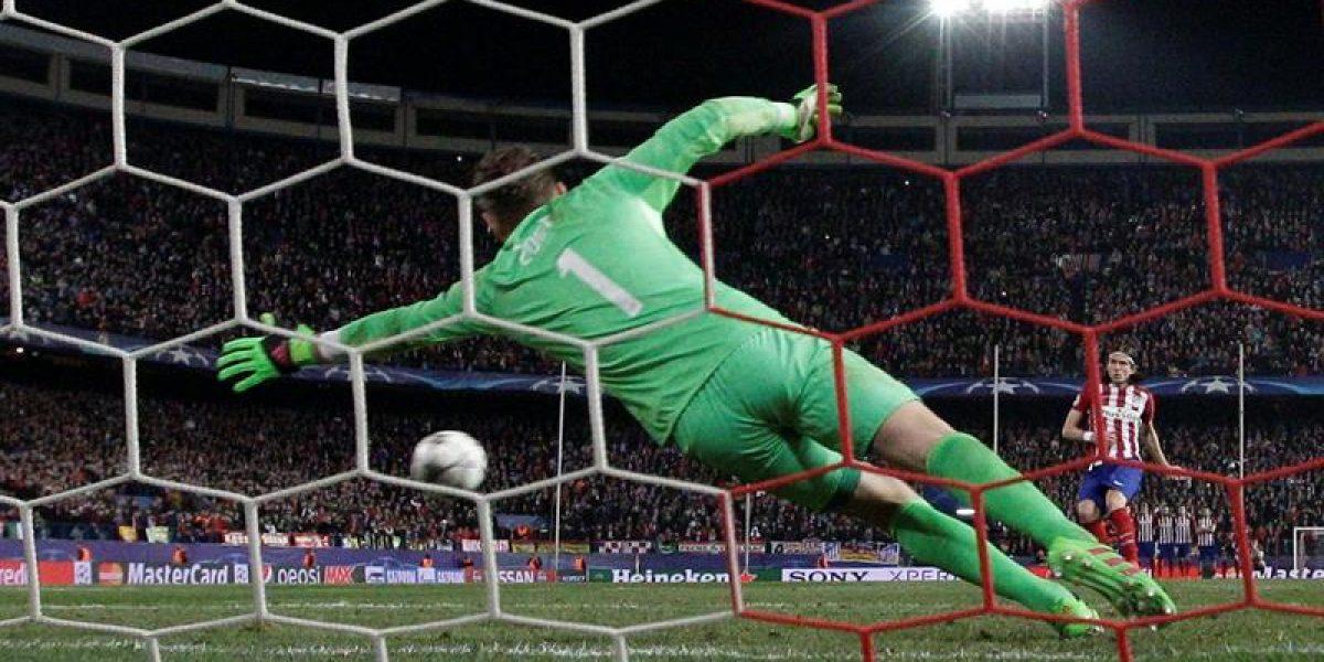 Atlético Madrid eliminó de la Champions a PSV tras infartante definición a penales
