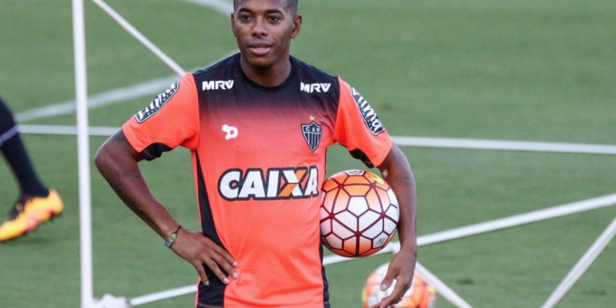 Atlético Mineiro sufre baja de última hora y Robinho tiene milagrosa recuperación