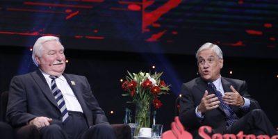 """Nueva """"Piñericosa"""": ex Presidente enrostró a Lech Walesa las invasiones que ha sufrido Polonia"""
