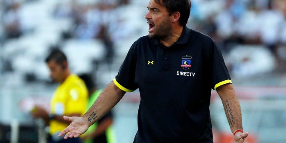 Las razones que tienen en llamas a José Luis Sierra en Colo Colo