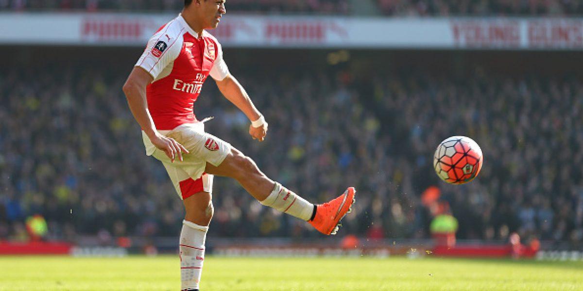 Golpe para Alexis: Histórico del Arsenal lo quiere fuera del equipo que enfrentará al Barcelona