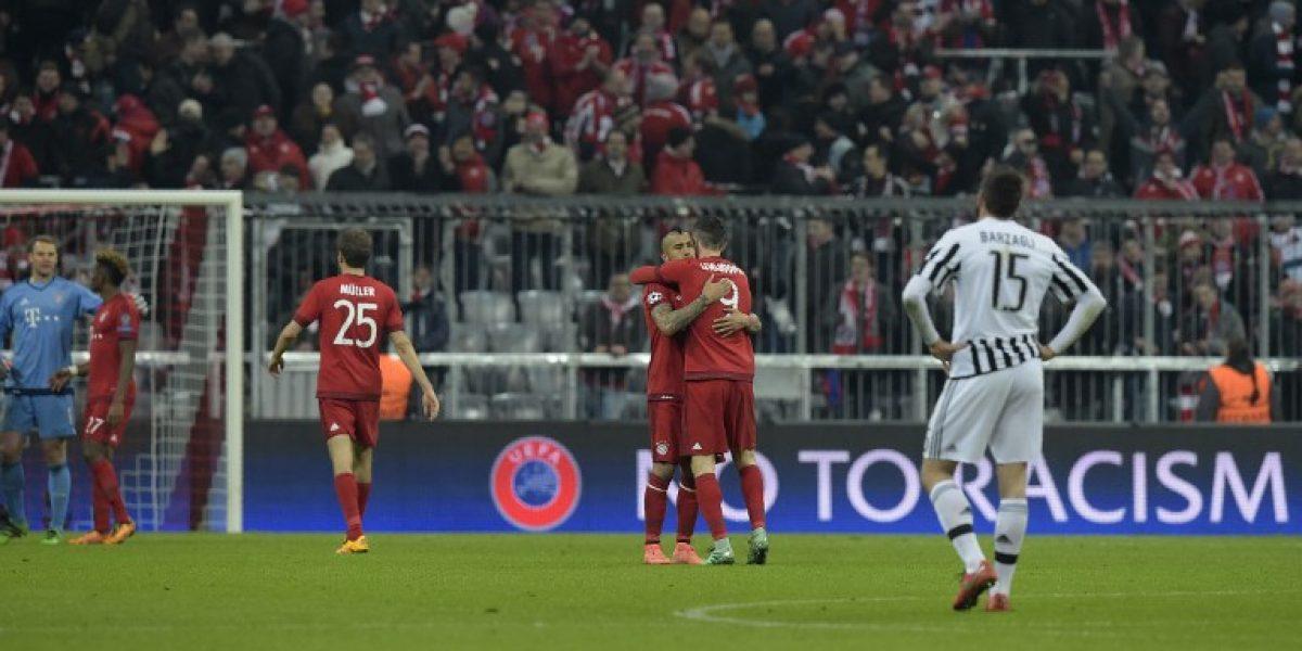 Arturo Vidal tras el sufrido triunfo del Bayern: