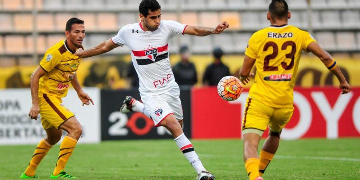 Sao Paulo sigue sin aparecer en la Libertadores y Trujillanos le sacó un empate