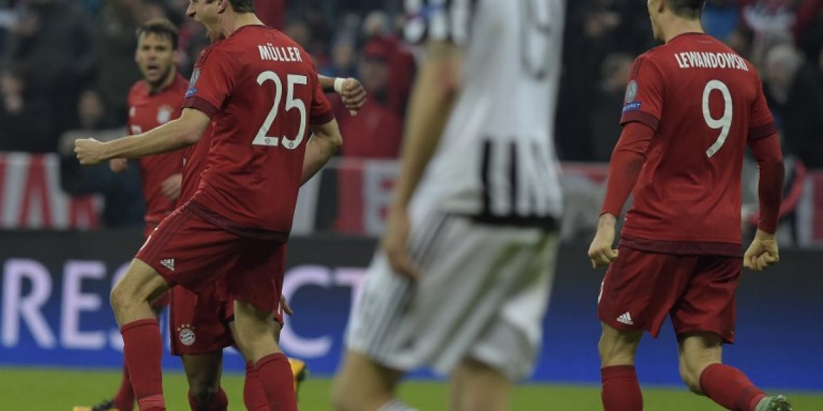 Bayern mostró carácter y sufriendo eliminó a Juventus de la Champions League