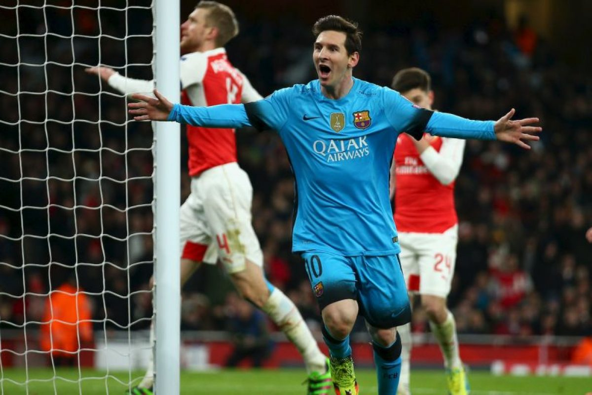 Barcelona vs. Arsenal Foto:Getty Images. Imagen Por: