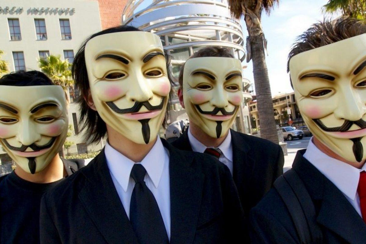 Anonymous no posee una jerarquía determinada y tiene miembros en todo el mundo. Foto:Wikipedia Commons. Imagen Por: