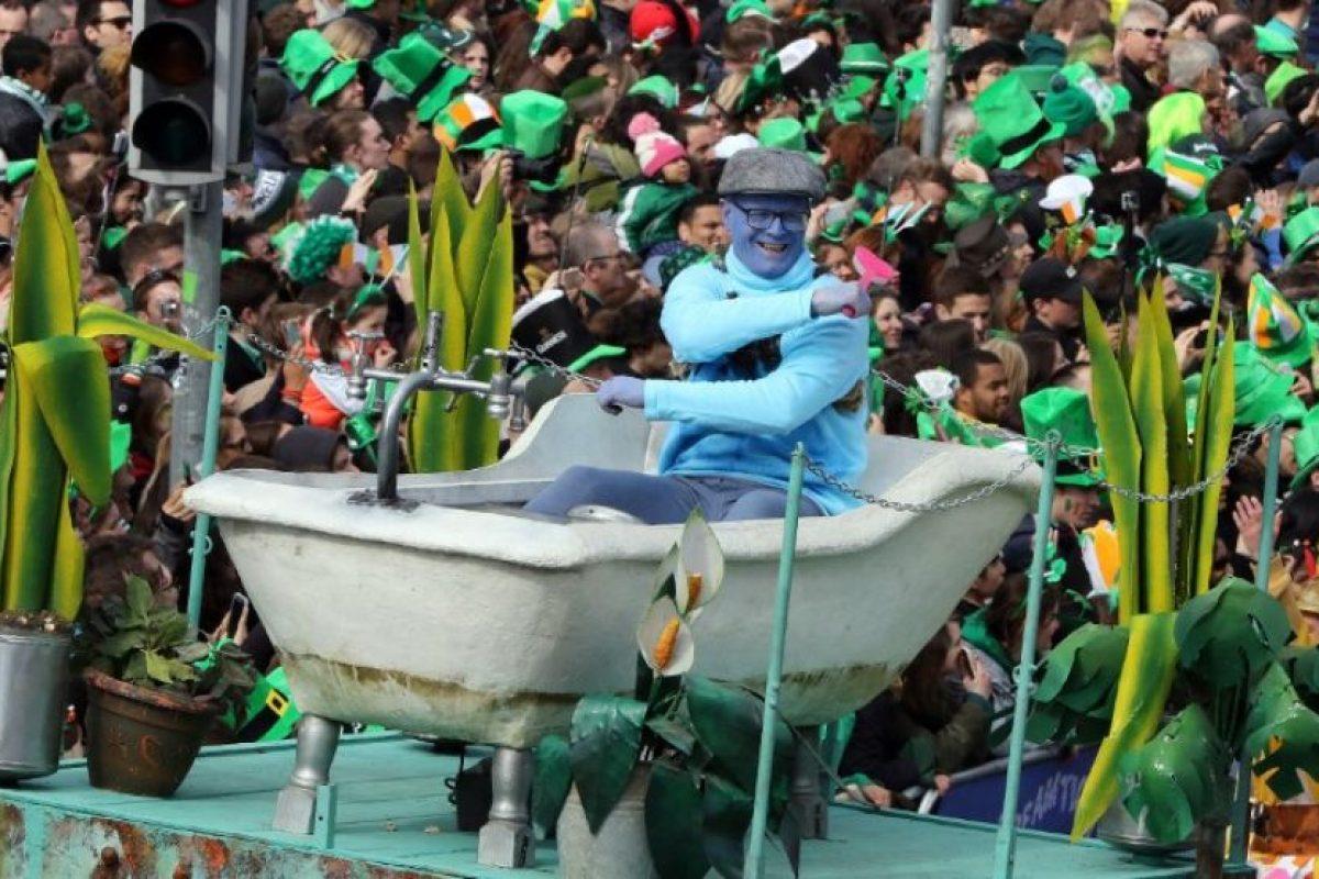 Y hubo desfiles conmemorativos en Irlanda Foto:AFP. Imagen Por: