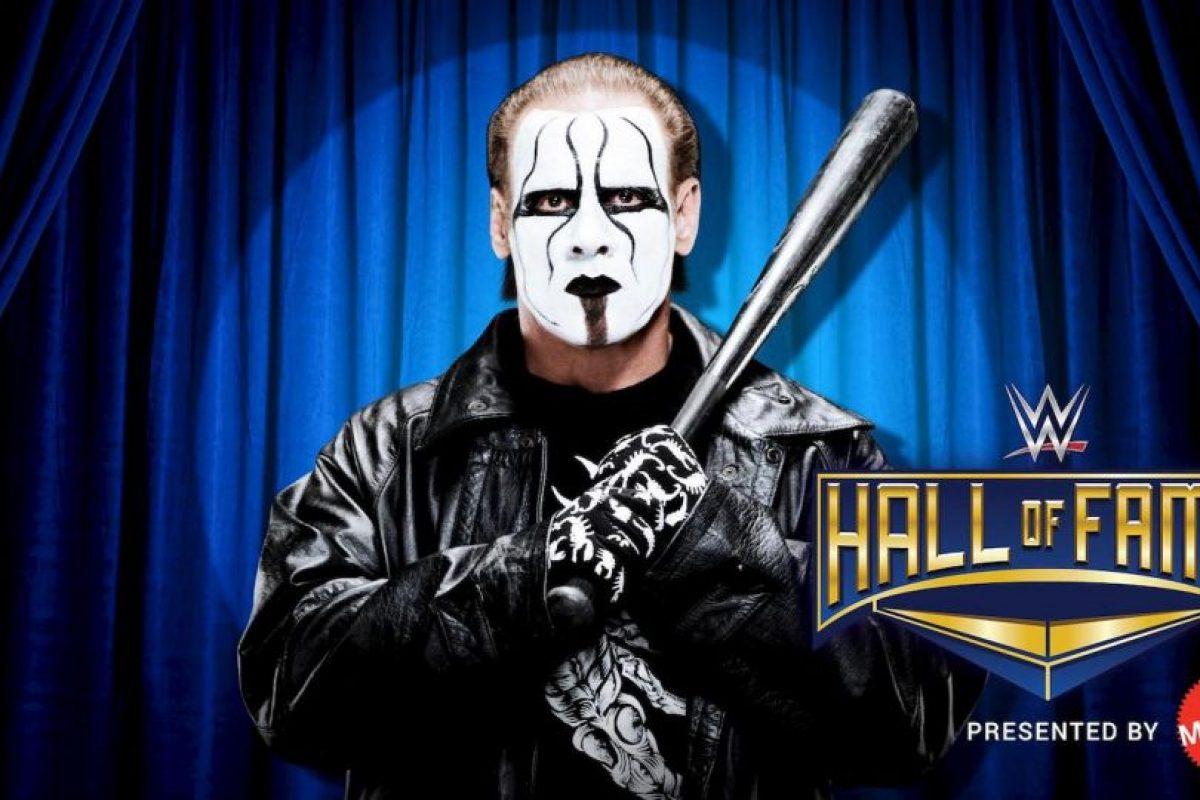 Sting es un luchador estadounidense de 56 años que participa en la WWE. Foto:WWE. Imagen Por: