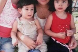 Esposa de Jorge y sus hijos Foto:Gentileza Familia. Imagen Por: