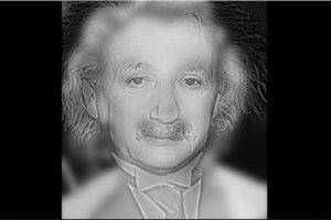 Algunas ilusiones ópticas son creadas. ¿A quién ven aquí? ¿Marilyn Monroe o Albert Einstein? Foto:mit.edu – Aude Oliva. Imagen Por: