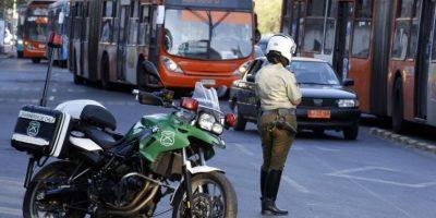 Operativo policial en la Alameda tras asesinato en pleno Santiago Centro