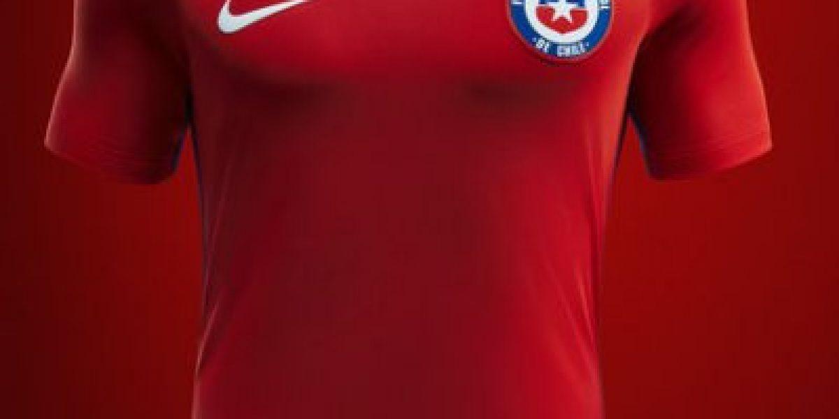 Con nueva indumentaria  La Roja tiene nuevo uniforme para la Copa América  Centenario ce7fa264a74fd