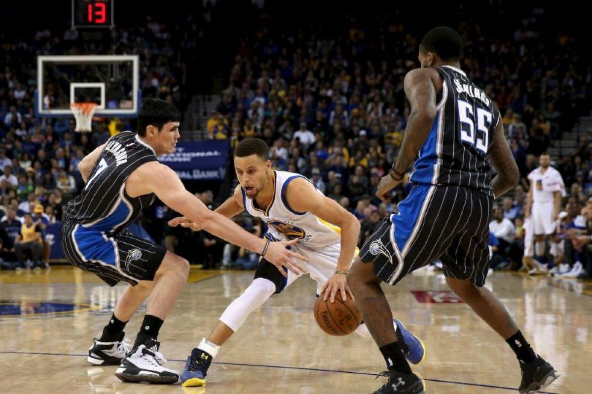 Guió a los Warriors al título, el año pasado Foto:Getty Images. Imagen Por: