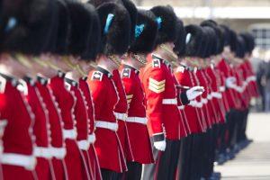 Kate Middleton no asistió, con lo que se rompió la tradición de 115 años de que asistieran ambos duques. Foto:Getty Images. Imagen Por:
