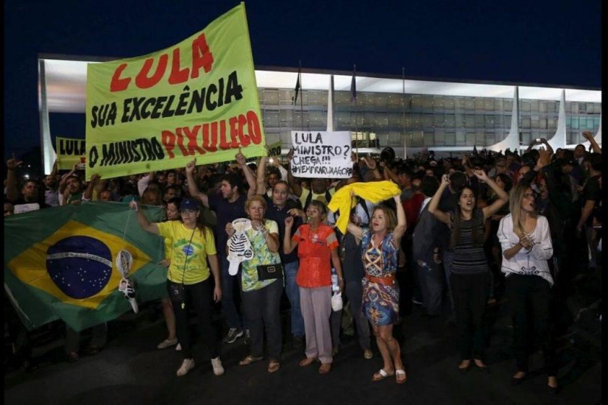 Reclaman el puesto asignado a Lula da Silva. Foto:Vía Twitter @amigoperu76. Imagen Por: