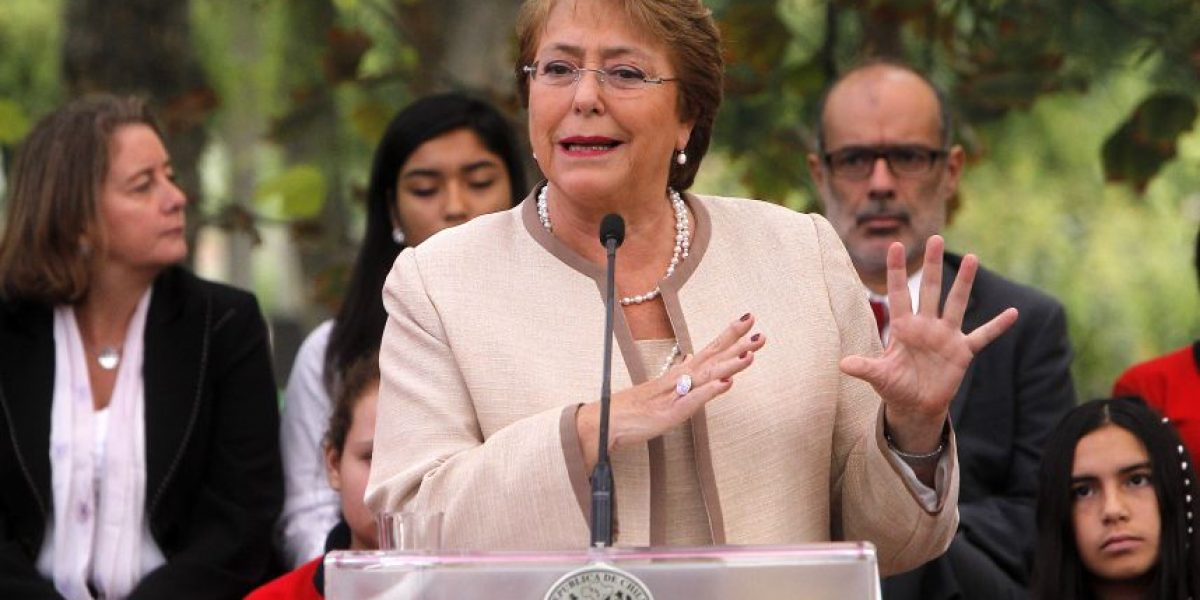 Presidenta Bachelet tras aprobación del proyecto de aborto: