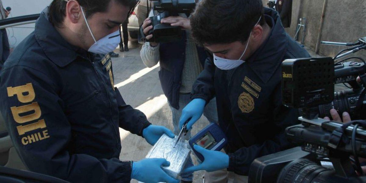 Detienen en Arica a abogado y una mujer involucrados en red narco