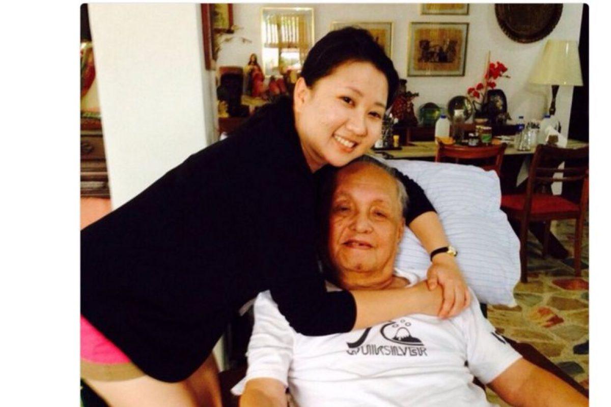 E historias con sus abuelos Foto:Twitter.com. Imagen Por: