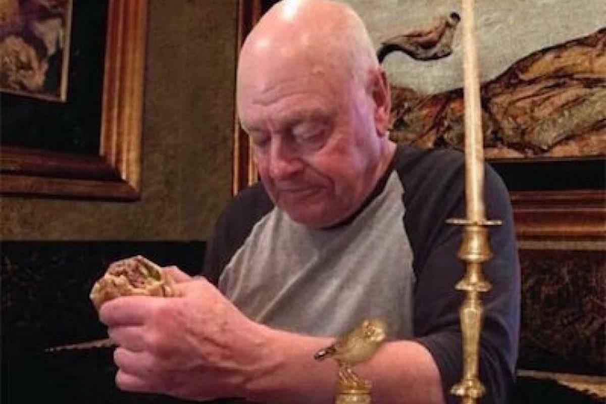 Luego la imagen del abuelo se convirtió en meme Foto:Twitter.com. Imagen Por:
