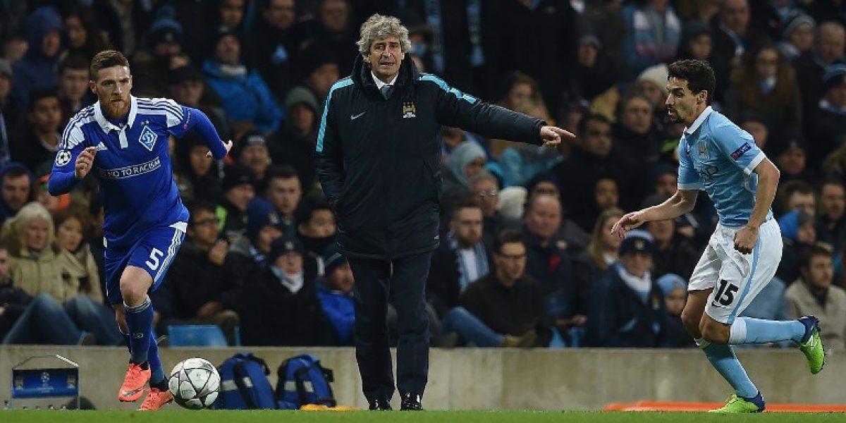 Pellegrini feliz por evitar al Barcelona: