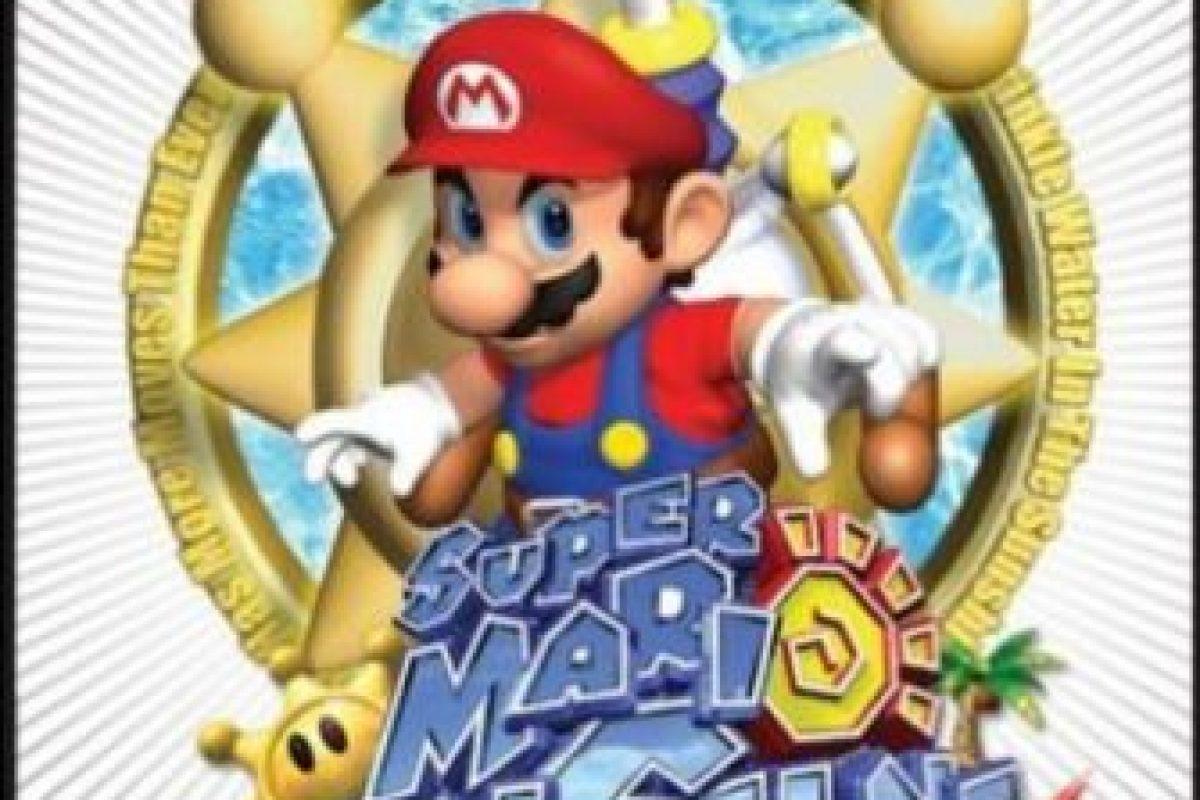 "6.- ""Super Mario Sunshine"" para Nintendo GameCube. Foto:Nintendo. Imagen Por:"