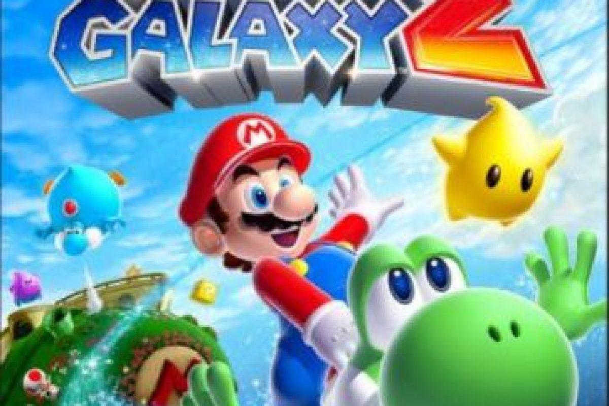 """4.- """"Super Mario Galaxy 2"""" para Nintendo Wii. Foto:Nintendo. Imagen Por:"""