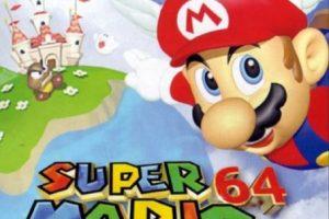 """3.- """"Super Mario 64"""" para Nintendo 64. Foto:Nintendo. Imagen Por:"""