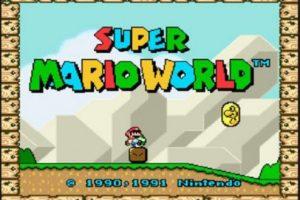 """1.- """"Super Mario World"""" para Super Ness. Foto:Nintendo. Imagen Por:"""