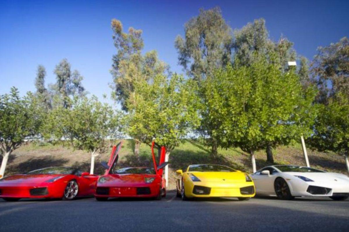 Los famosos y los lujosos autos que conducen. Foto:Twitter. Imagen Por: