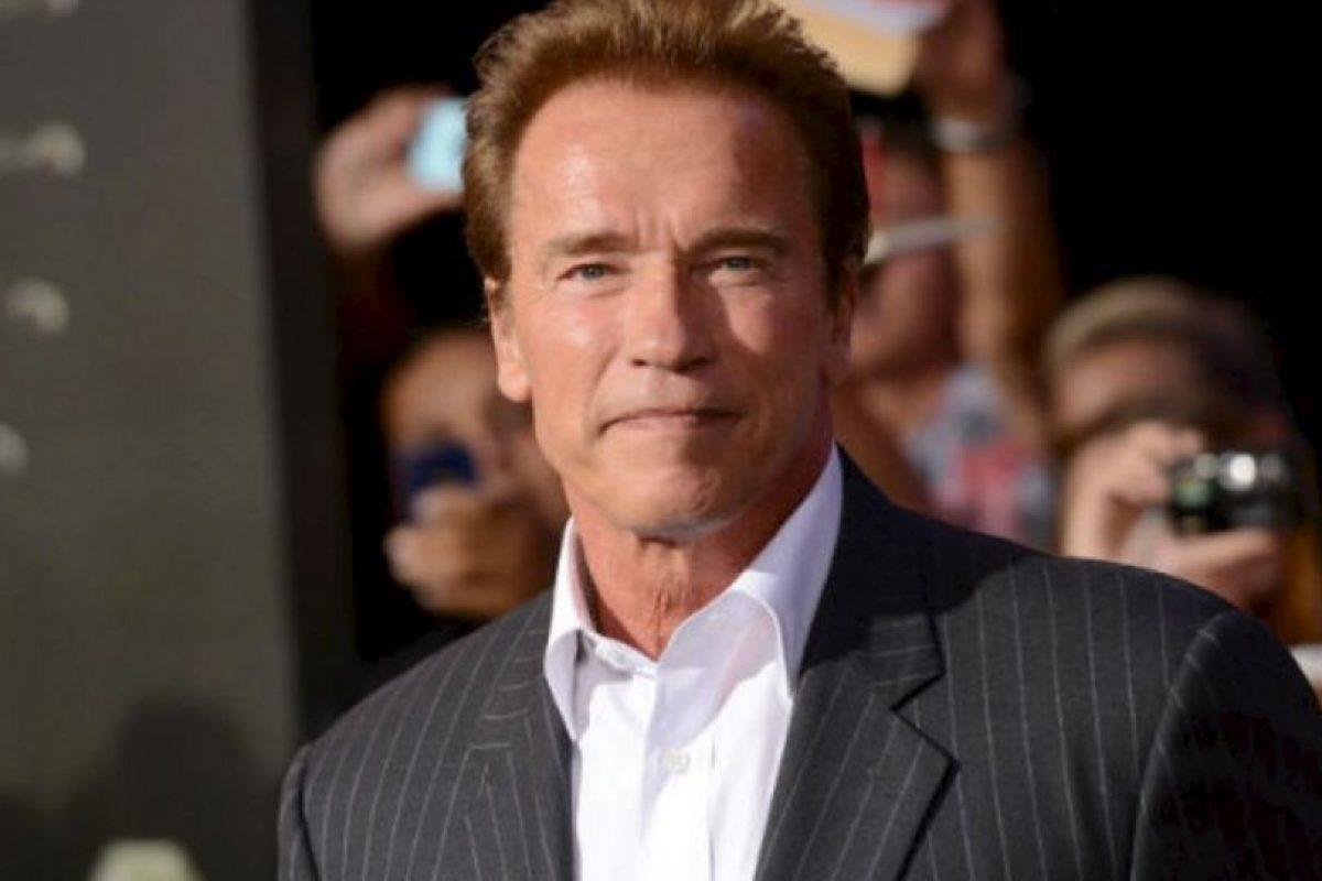 Arnold Schwarzenegger. Foto:Getty Images. Imagen Por: