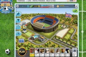 Kamicat Football 2014 ofrece es un popular simulador de soccer para Facebook. Foto:kamicat.com. Imagen Por: