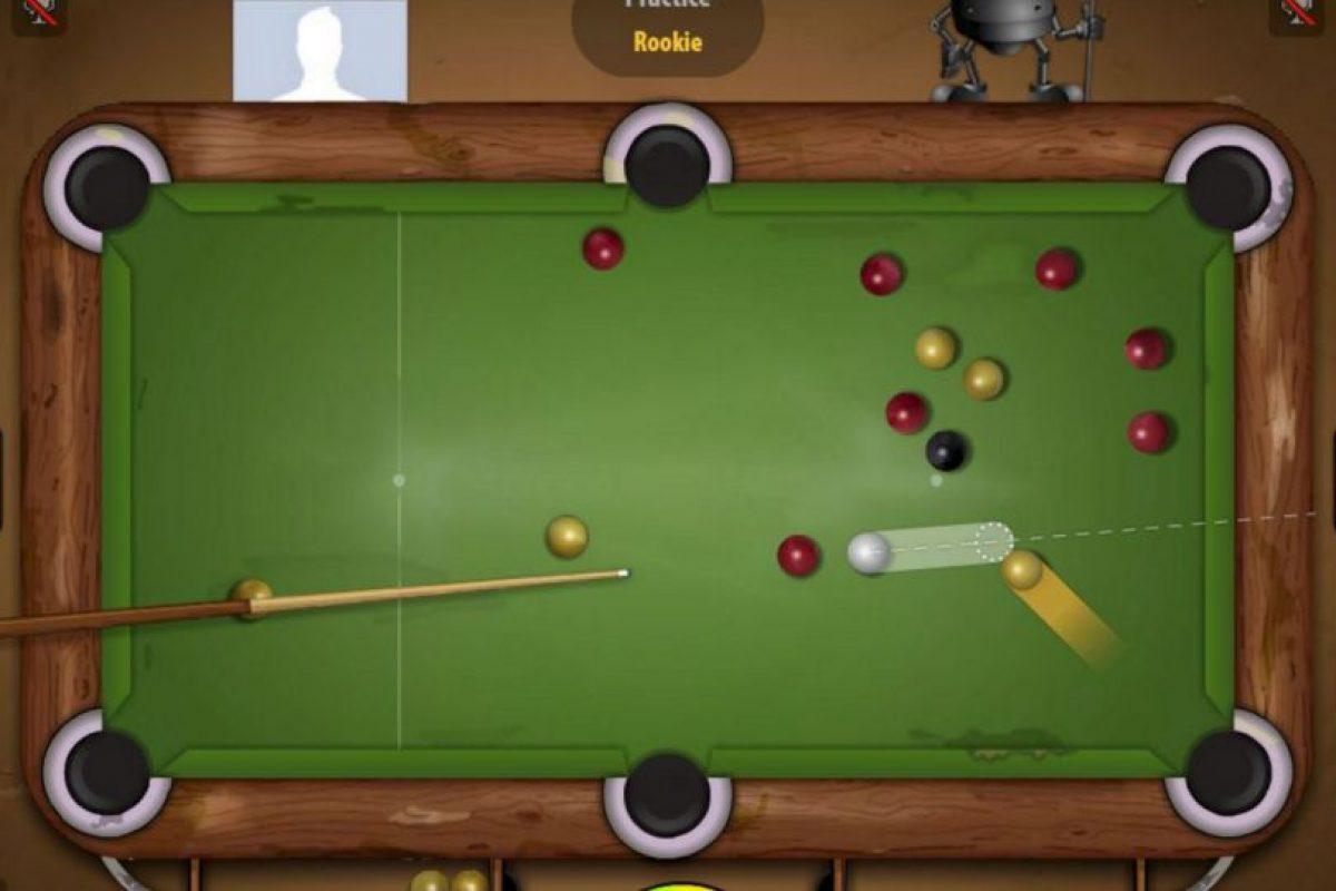 Pool Live Tour es un simulador de billar con el que podrás enfrentarte con otros usuarios de la red. Foto:Geewa. Imagen Por:
