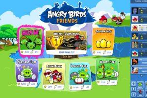Angry Birds Friends es la versión de los pájaros destructores para Facebook. Foto:Rovio Entertainment. Imagen Por: