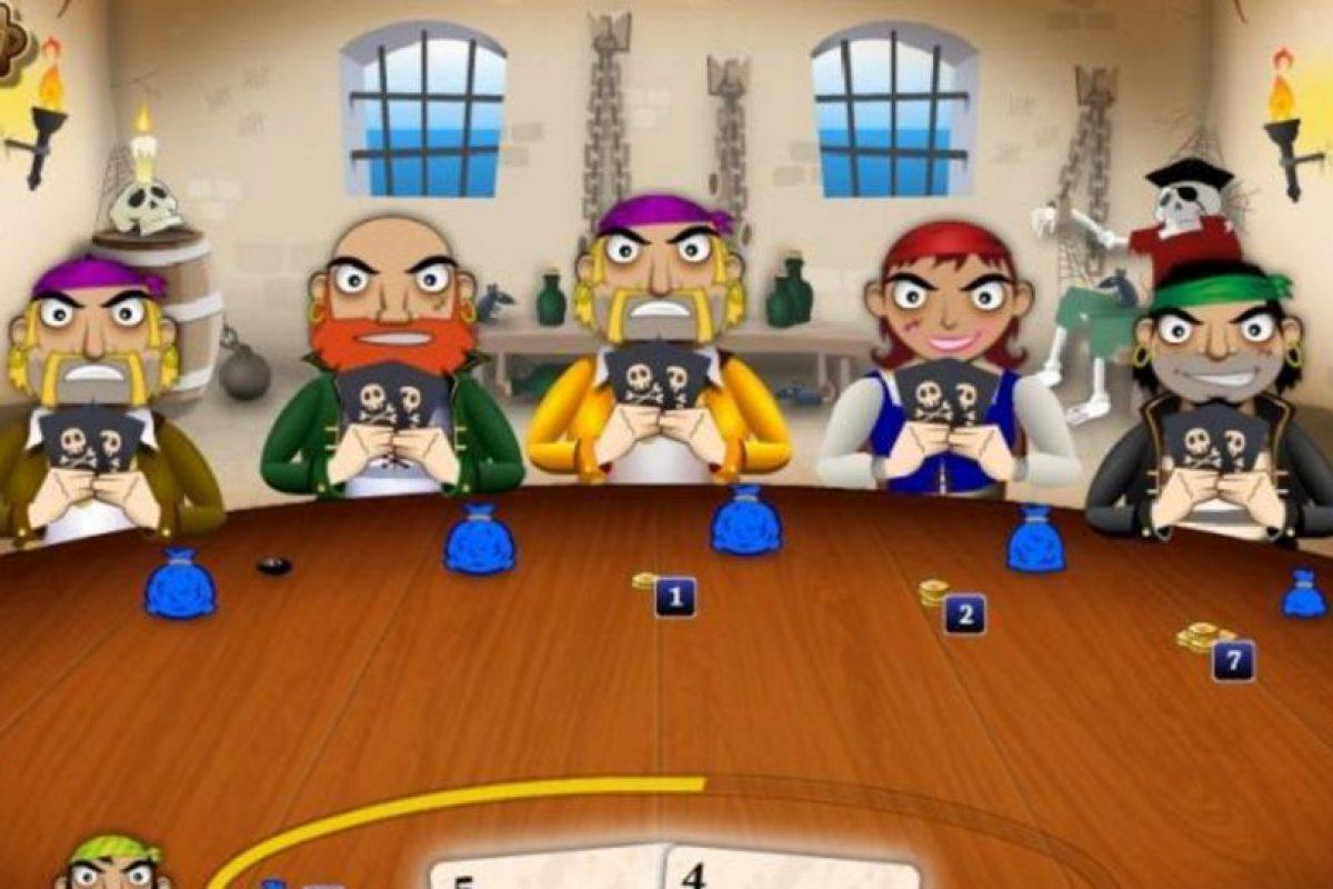 Pirates Poker es un título donde pueden jugar a las cartas como un mercenario del mar. Foto:http://corporate.geewa.com/game/pirates-poker/. Imagen Por: