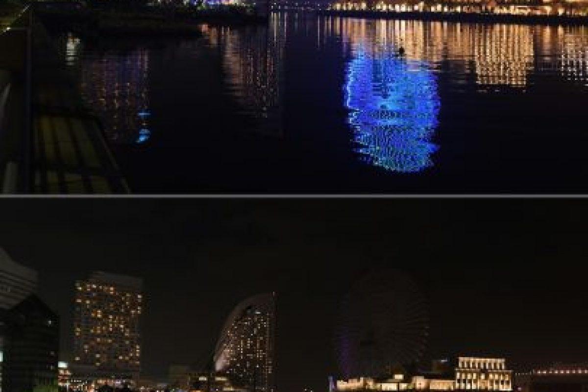 Vista de la bahía en la ciudad japonesa de Yokohama Foto:AFP. Imagen Por: