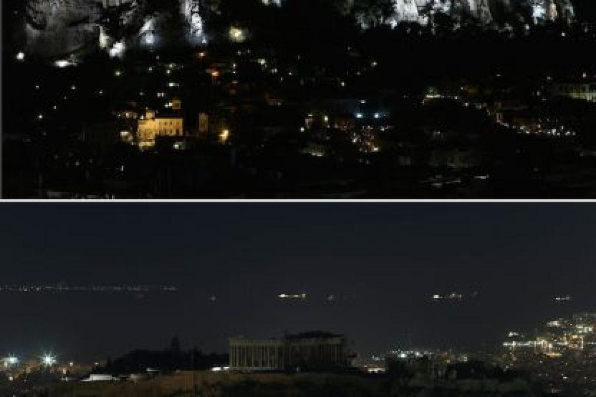 El Partenón en Grecia Foto:AFP. Imagen Por: