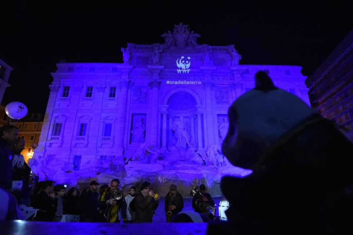 La Fontana de Trevi en Italia Foto:AFP. Imagen Por:
