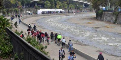 Habilitarán ribera del río Mapocho durante 6 días para los ciclistas