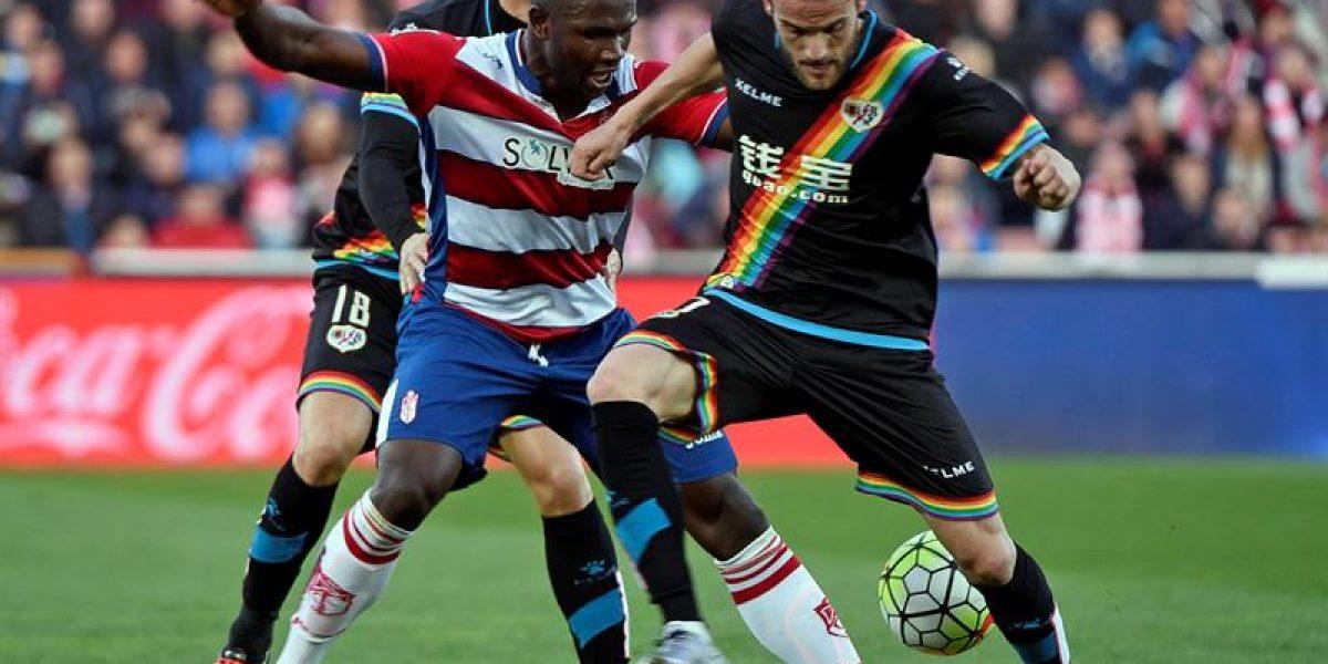 El Rayo Vallecano de Iturra rescató un agónico empate ante Granada