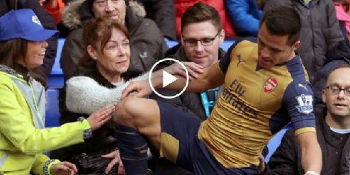 Deleitó al mundo: La reacción de los fanáticos ante acción de Alexis Sánchez