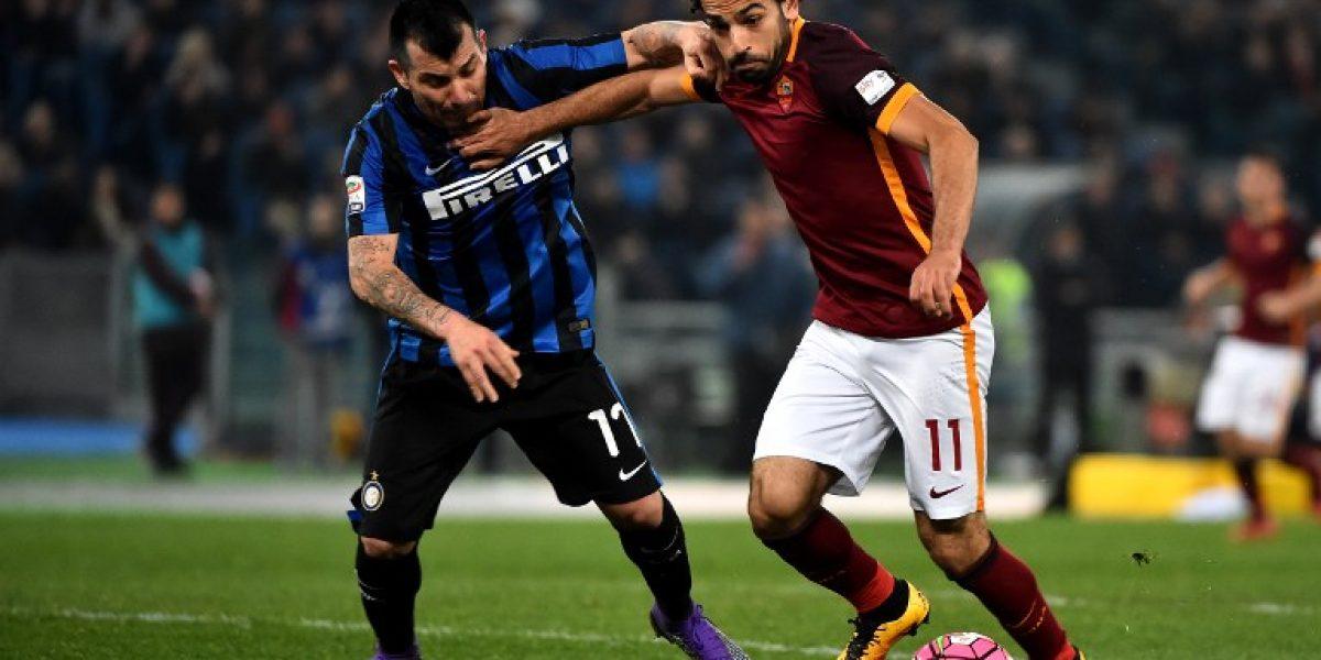 Medel no pudo conquistar a la Roma y sólo rescata un empate con el Inter