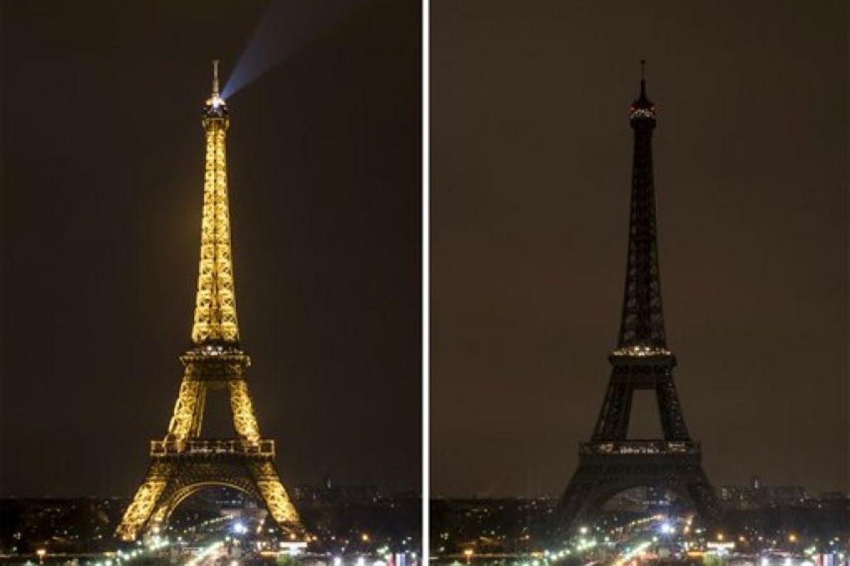 La Torre Eiffel en París, Francia Foto:AP. Imagen Por: