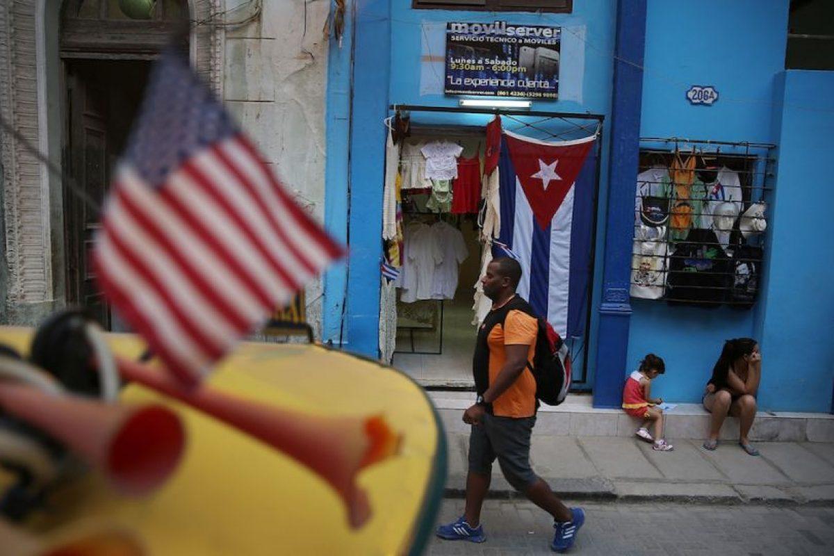 Hoy, las banderas de barras y estrellas de ambos países ondean a la par Foto:Getty Images. Imagen Por: