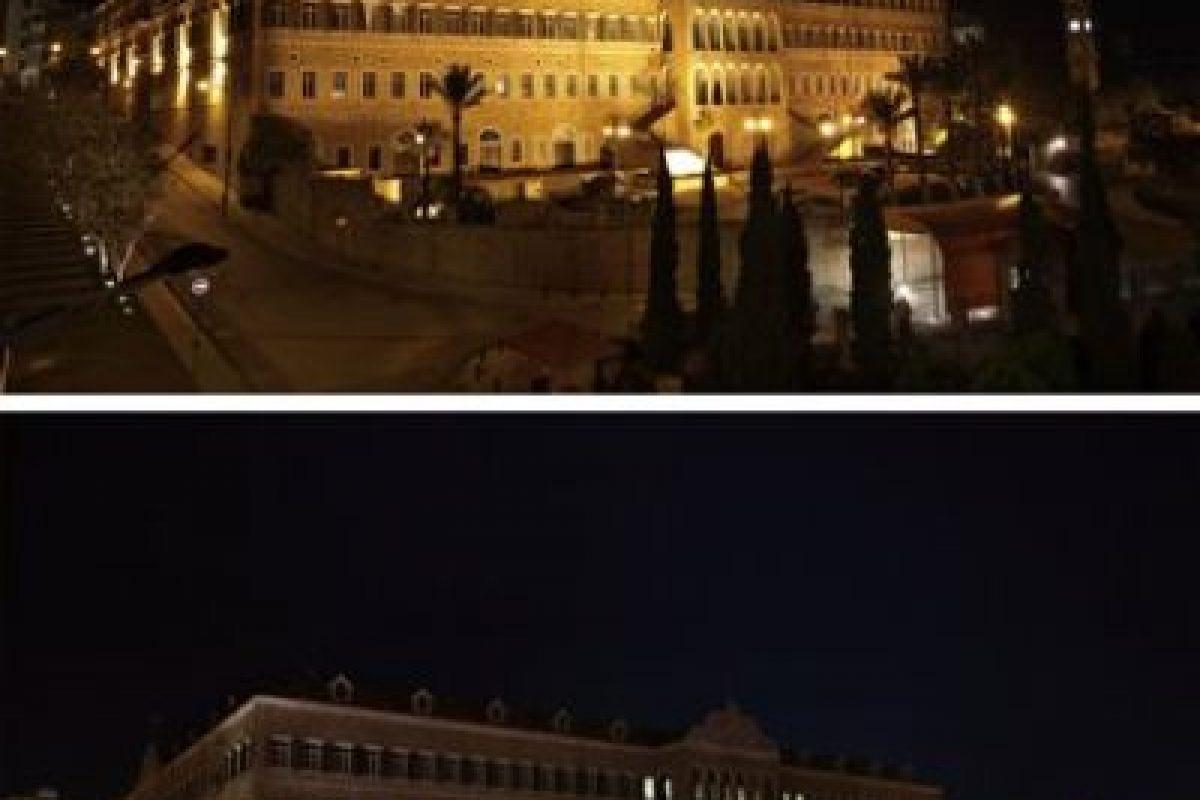 Instalaciones gubernamentales en el centro de Beirut, Líbano Foto:AP. Imagen Por:
