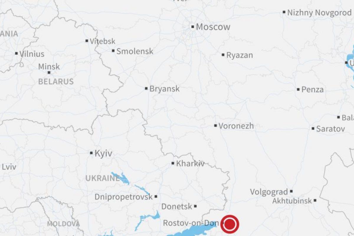 Esta fue la zona del accidente. Foto:vía Mapbox. Imagen Por:
